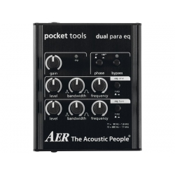 AER Pocket Tools Dual Para EQ Pedalı