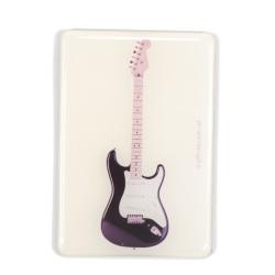 Agifty Siyah Elektro Gitar Magnet (8 x 5.5 Cm)