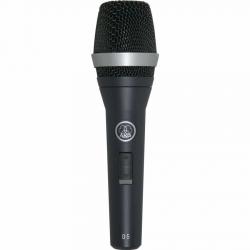 AKG D5S Profesyonel Dinamik Sahne ve Vokal Mikrofonu Açma Kapama Butonlu