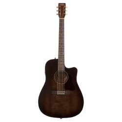 Art & Lutherie Americana CW QIT Elektro Akustik Gitar (Bourbon Burst)