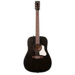 Art & Lutherie Americana Elektro Akustik Gitar (Faded Black)