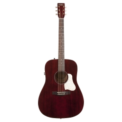 Art & Lutherie  Americana Qit Elektro Akustik Gitar (Tennessee Red)