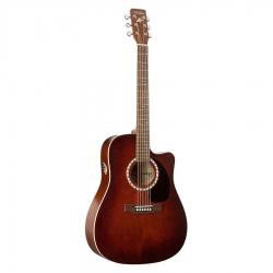 Art & Lutherie CW Cedar Antique Burst QI Elektro Akustik Gitar