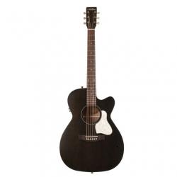 Art & Lutherie Legacy Cutaway Elektro Akustik Gitar (Faded Black)