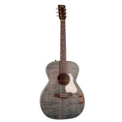 Art & Lutherie Legacy Q-discrete Elektro Akustik Gitar (Denim Blue)