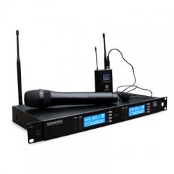 Ashton AWM350HTBP Rack Tipi Wireless Telsiz Mikrofon