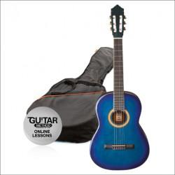 Ashton CG14 Junior 1/4 Klasik Gitar Seti Mavi