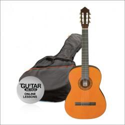 Ashton CG14 Junior 1/4 Klasik Gitar Seti Naturel