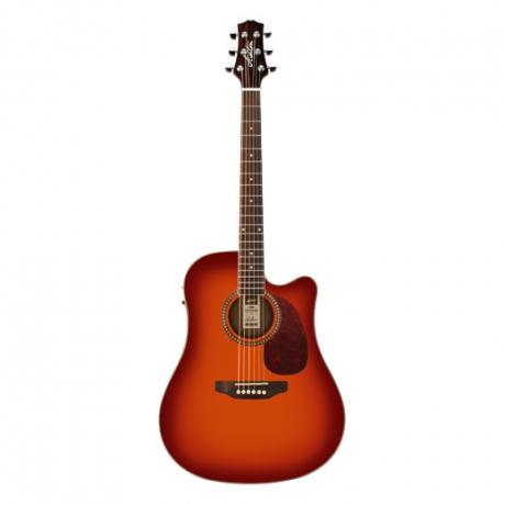 Ashton D25CEQ Elektro Akustik Gitar Paketi (Cherry Sunburst)<br>Fotoğraf: 1/1