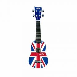 Ashton UKE100UJ Soprano Ukulele (Union Jack Design)