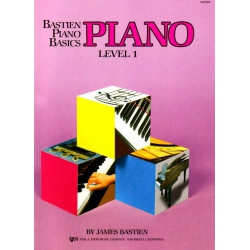 Bastien Piano Basics Level 1 Piyano Eğitim Seti