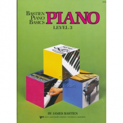 Bastien Piano Basics Level 3 Piyano Eğitim Seti