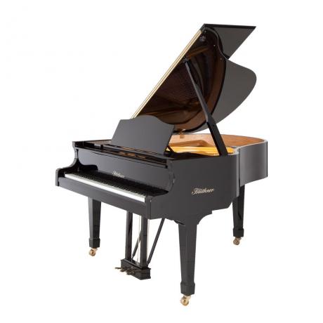 Blüthner Grand Model 10 Akustik Kuyruklu Piyano (Parlak Siyah)<br>Fotoğraf: 1/1