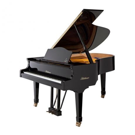 Blüthner Grand Model 6 Akustik Kuyruklu Piyano (Parlak Siyah)<br>Fotoğraf: 1/1