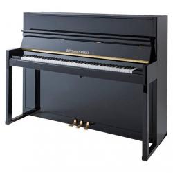 Blüthner HB116 Akustik Duvar Piyanosu (Parlak Siyah)