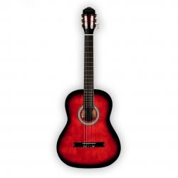 Brahner AC821RB 3/4 Klasik Gitar (Red Burst)