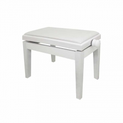 Brahner BH301 WH Ayarlı Piyano Taburesi (Beyaz)