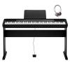 Casio CDP-130B Dijital Piyano Seti (Kulaklık Hediyeli)<br>Fotoğraf: 1/4