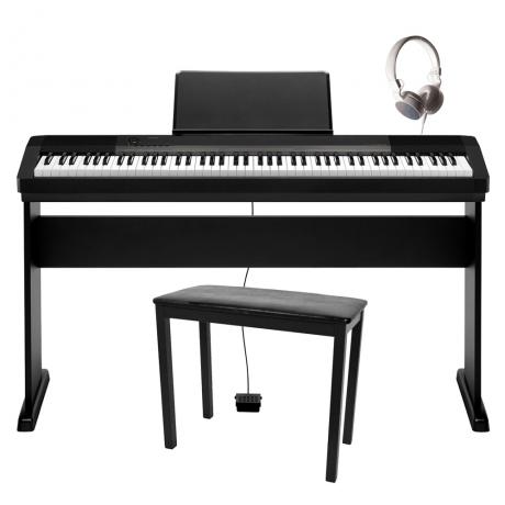Casio CDP-130B Dijital Piyano Seti (Tabure + Kulaklık Hediyeli)<br>Fotoğraf: 1/5