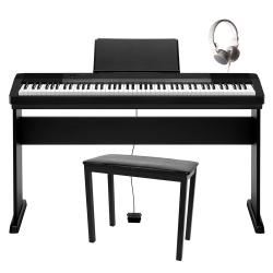 Casio CDP-130B Dijital Piyano Seti (Tabure + Kulaklık Hediyeli)