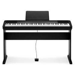 Casio CDP-130B Taşınabilir Dijital Piyano Seti (Siyah)