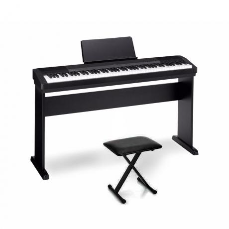 Casio CDP-135BK Dijital Piyano Seti ve Dadi KB01 Org Taburesi<br>Fotoğraf: 1/1