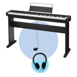 Casio CDP-S100 Dijital Piyano (CS-46 Stand + Kulaklık Seti)