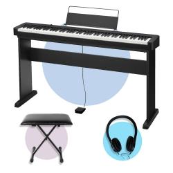 Casio CDP-S100 Dijital Piyano (CS-46 Stand + Tabure + Kulaklık Seti)