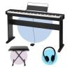 Casio CDP-S100 Dijital Piyano (CS-46 Stand + Tabure + Kulaklık Seti)<br>Fotoğraf: 1/4