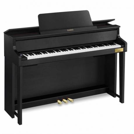 Casio Celviano Grand Hybrid GP-300BK Dijital Piyano (Mat Siyah)<br>Fotoğraf: 2/3