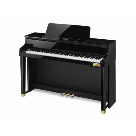 Casio Celviano Grand Hybrid GP-500BP Dijital Piyano (Parlak Siyah)<br>Fotoğraf: 3/3