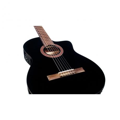 Cordoba C5-CETBK Elektro Klasik Gitar<br>Fotoğraf: 2/4