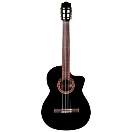 Cordoba C5-CETBK Elektro Klasik Gitar<br>Fotoğraf: 1/4