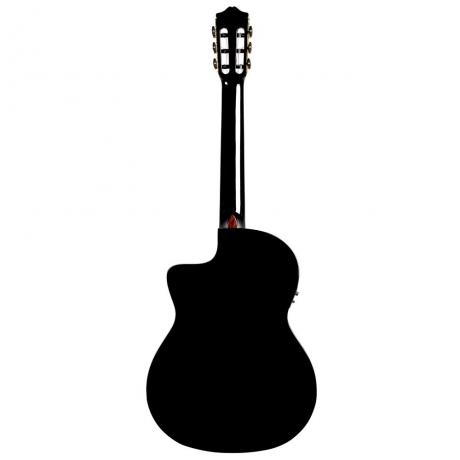 Cordoba C5-CETBK Elektro Klasik Gitar<br>Fotoğraf: 3/4