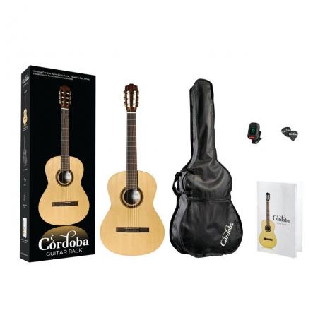 Cordoba CP100 Klasik Gitar Seti<br>Fotoğraf: 1/3