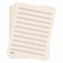 D'Addario D10S Nota Kağıdı