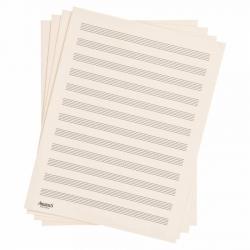 D'Addario D12S Nota Kağıdı