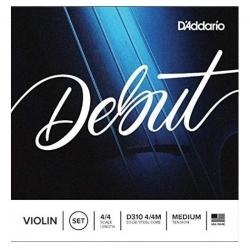 D'addario D310 Debut Takım 4/4 Keman Teli  (Medium)