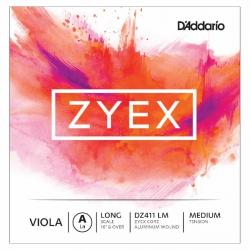 D'Addario DZ411 LM Zyex A Viyola Teli (La)