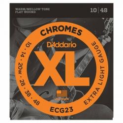 D'Addario ECG23 Chromes Elektro Gitar Teli (010-048)