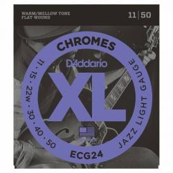 D'Addario ECG24 Chromes Elektro Gitar Teli (011-050)