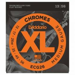 D'Addario ECG26 Chromes Elektro Gitar Teli (013-056)