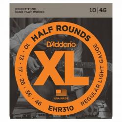 D'Addario EHR310 Half Round Elektro Gitar Teli (010-046)