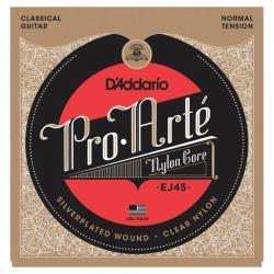 D'Addario EJ45 Pro-Arte Normal Tension Klasik Gitar Teli