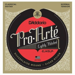 D'Addario EJ45LP Pro-Arte Polished Normal Tension Klasik Gitar Teli