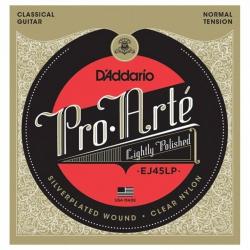 D'Addario EJ45LP Pro-Arte Polished Normal Tension Klasik Gitar Teli
