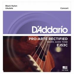 D'Addario EJ53C Pro-Arte Concert Ukulele Teli