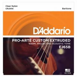 D'Addario EJ65B Pro-Arte Baritone Ukulele Teli