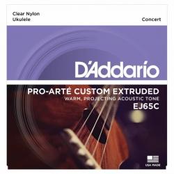 D'Addario EJ65C Pro-Arte Concert Ukulele Teli