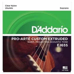 D'Addario EJ65S Pro-Arte Soprano Ukulele Teli